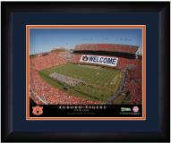 Auburn Tigers 13 x 16 Personalized Framed Stadium Print