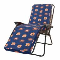 Auburn Tigers 3 Piece Chaise Lounge Chair Cushion