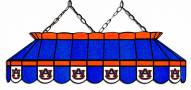 """Auburn Tigers 40"""" Stained Glass Pool Table Light"""