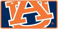 Auburn Tigers Acrylic Mega License Plate