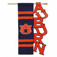 Auburn Tigers Applique Garden Flag