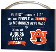 Auburn Tigers Best Things Small Plaque