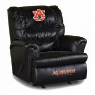 Auburn Tigers Big Daddy Leather Recliner