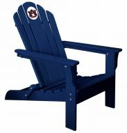 Auburn Tigers Blue Adirondack Chair