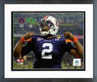 Auburn Tigers Cam Newton BCS Championship Game Celebration Framed Photo