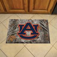 Auburn Tigers Camo Scraper Door Mat