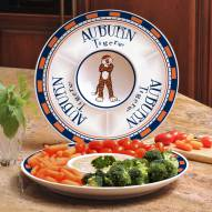 Auburn Tigers Ceramic Chip and Dip Serving Dish