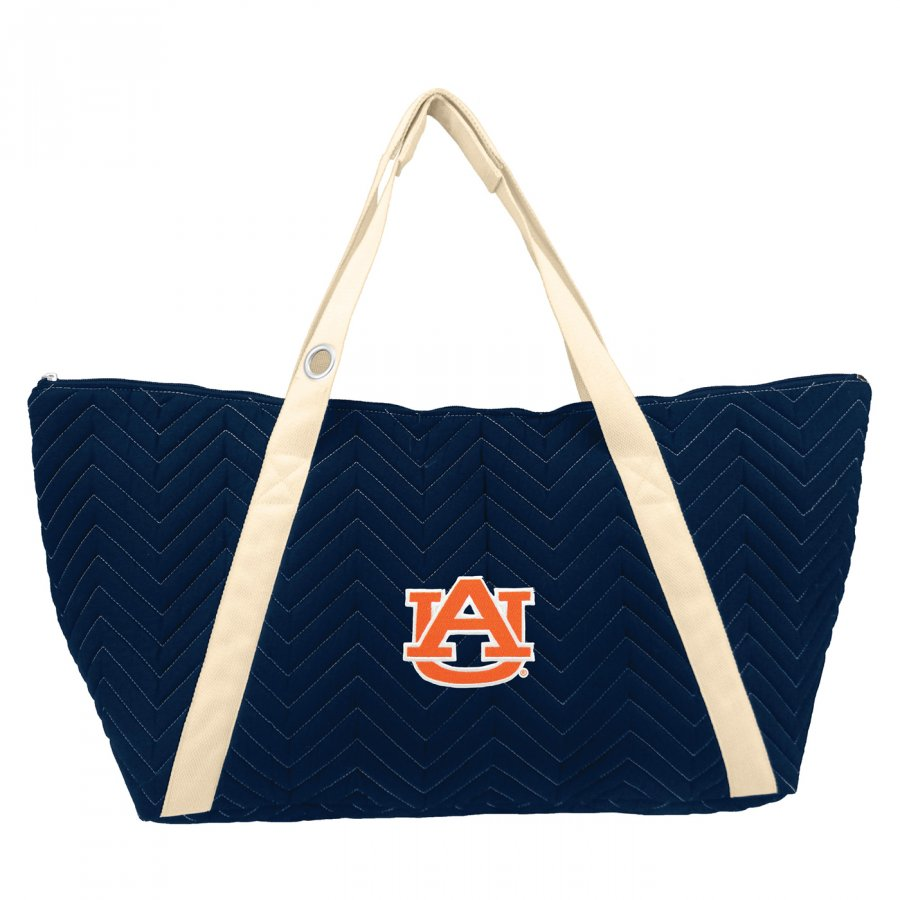 Auburn Tigers Chevron Stitch Weekender Bag