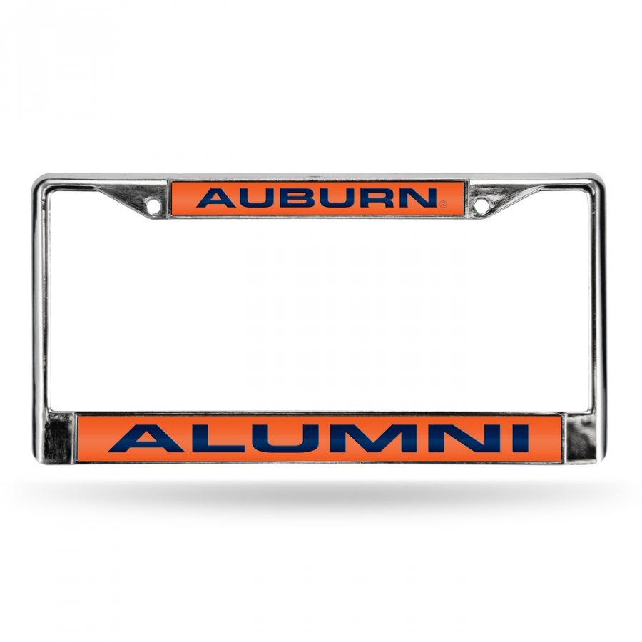 Auburn Tigers Chrome Alumni License Plate Frame