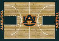 Auburn Tigers College Home Court Area Rug