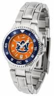 Auburn Tigers Competitor Steel AnoChrome Women's Watch - Color Bezel