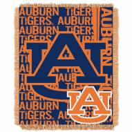 Auburn Tigers Double Play Woven Throw Blanket