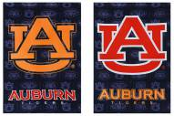 Auburn Tigers Double Sided Glitter Flag