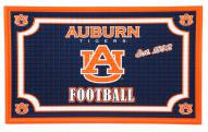 Auburn Tigers Embossed Door Mat