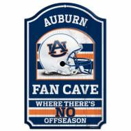 Auburn Tigers Fan Cave Wood Sign
