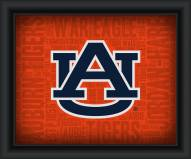 Auburn Tigers Framed Word Cloud