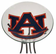 Auburn Tigers Glass Bird Bath