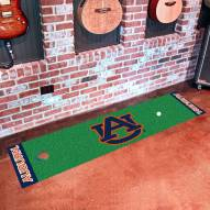 Auburn Tigers Golf Putting Green Mat