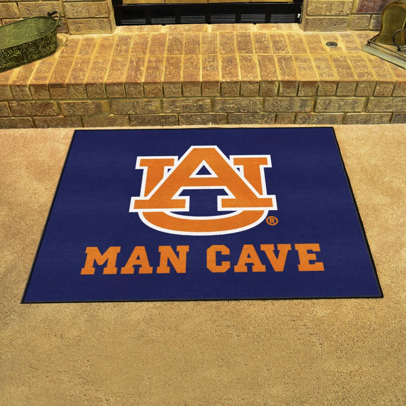 Auburn Man Cave Decor : Auburn tigers man cave all star rug