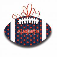 Auburn Tigers Metal Football Door Decor