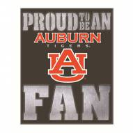Auburn Tigers Metal LED Wall Sign