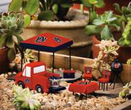 Auburn Tigers Mini Tailgate Garden Set