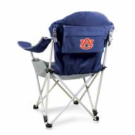 Auburn Tigers Navy Reclining Camp Chair
