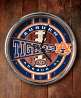 Auburn Tigers NCAA Chrome Wall Clock