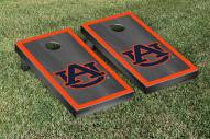 Auburn Tigers Onyx Stained Border Cornhole Game Set