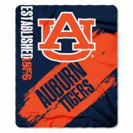 Auburn Tigers Painted Fleece Blanket