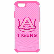 Auburn Tigers Pink Pebble Grain iPhone 6/6s Plus Case