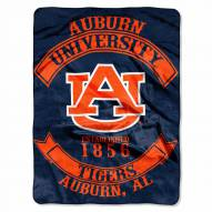 Auburn Tigers Rebel Raschel Throw Blanket