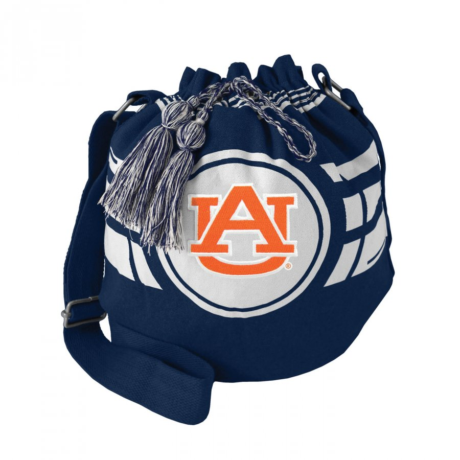 Auburn Tigers Ripple Drawstring Bucket Bag