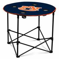 Auburn Tigers Round Folding Table