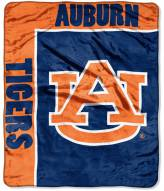 Auburn Tigers School Spirit Raschel Throw Blanket