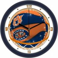 Auburn Tigers Slam Dunk Wall Clock