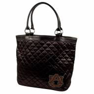 Auburn Tigers Sport Noir Quilted Tote