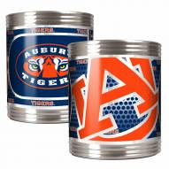 Auburn Tigers Stainless Steel Hi-Def Coozie Set