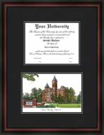 Auburn Tigers Diplomate Framed Lithograph with Diploma Opening