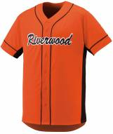 Augusta Slugger Adult Full Button Front Baseball Jersey