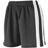 Augusta Wicking Mesh Powerhouse Girls' Softball Shorts