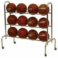 Spalding Scholastic Basketball Rack