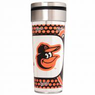 Baltimore Orioles 22 oz. Hi Def Travel Tumbler