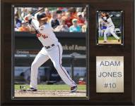 "Baltimore Orioles Adam Jones 12"" x 15"" Player Plaque"
