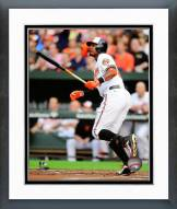 Baltimore Orioles Adam Jones 2014 Action Framed Photo