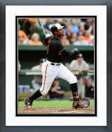 Baltimore Orioles Adam Jones 2015 Action Framed Photo