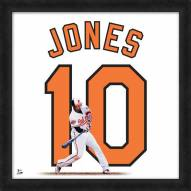 Baltimore Orioles Adam Jones Uniframe Framed Jersey Photo