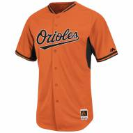 Baltimore Orioles Authentic Home Batting Practice Baseball Jersey