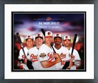 Baltimore Orioles Baltimore Orioles 2014 Team Composite Framed Photo