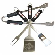 Baltimore Orioles 4-Piece Stainless Steel BBQ Set